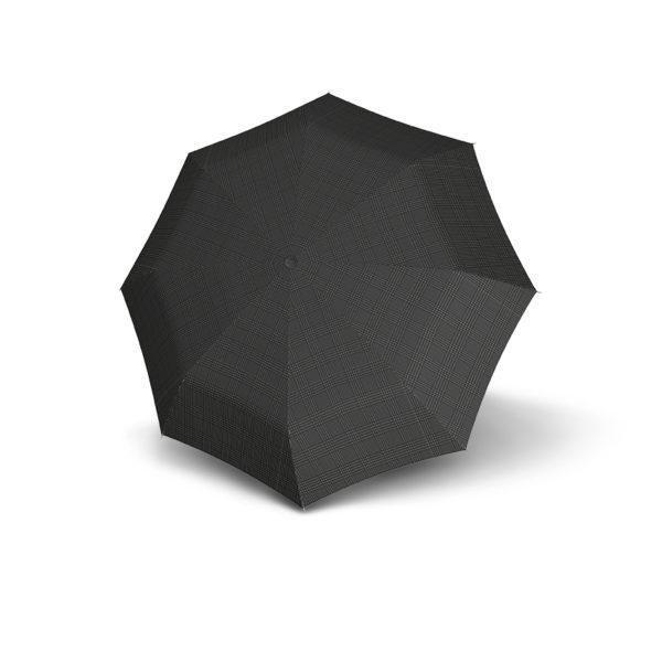 Vyriškas skėtis Doppler Fiber Automatic, languotas, išskleistas
