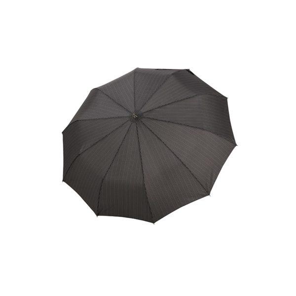 Vyriškas skėtis Doppler Fiber Magic Strong, taškuotas, išskleistas