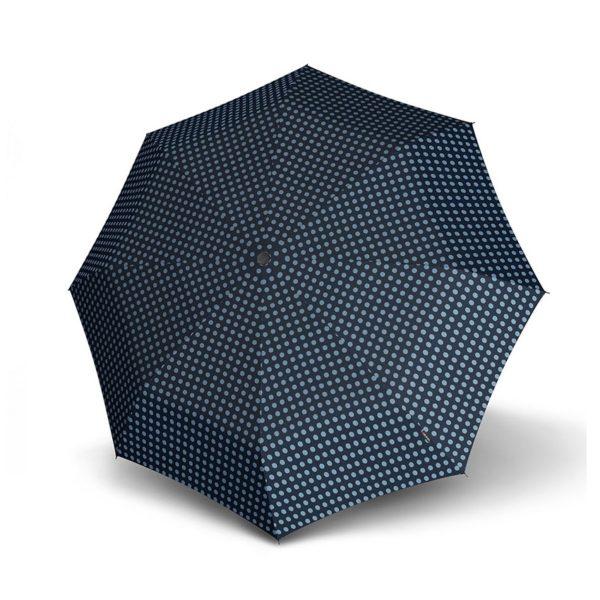 Moteriškas skėtis Knirps X1, mechaninis, su įdėklu, išskleistas