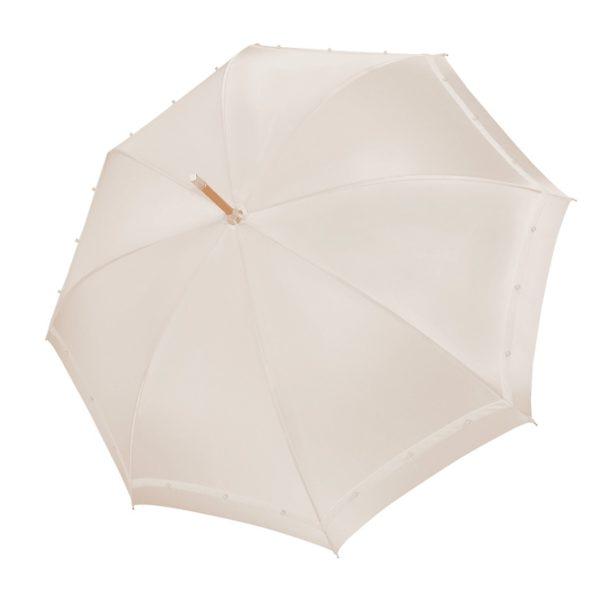 Vienetinis rankų darbo vestuvinis skėtis Pearl uždarytas