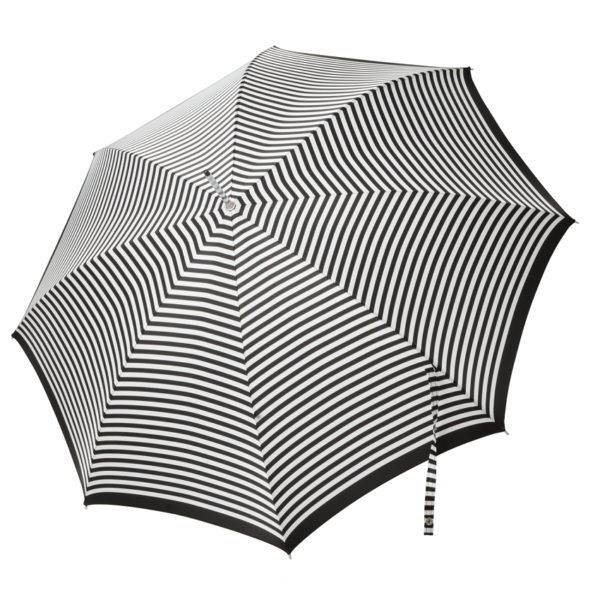 Moteriškas rankų darbo skėtis Doppler Manufaktur Elegance Classic atidarytas