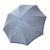 Moteriškas rankų darbo skėtis Doppler Manufaktur Elegance Classic mėlyna atidarytas