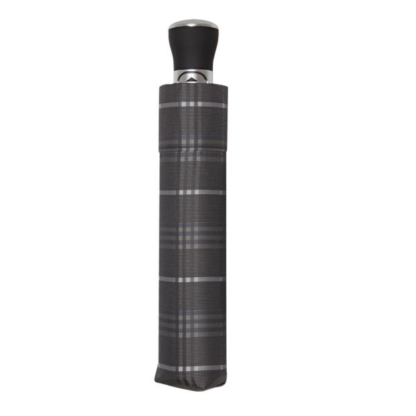 Vyriškas rankų darbo skėtis Doppler Manufaktur Carbon Orion 34535K51120 uždarytas