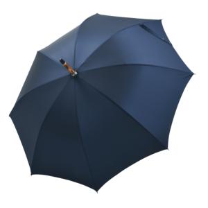 Vyriškas rankų darbo skėtis Doppler Manufaktur Kongo Oxford atidarytas