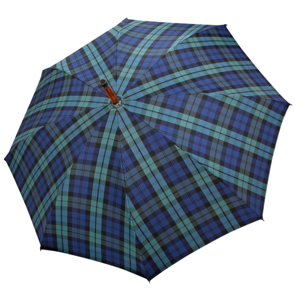 Vyriškas rankų darbo skėtis Doppler Manufaktur Chestnut Zurs atidarytas