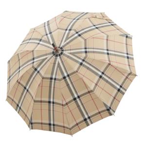 Vyriškas rankų darbo skėtis Doppler Manufaktur Chestnut Root atidarytas