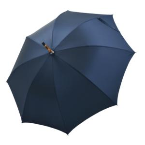 Vyriškas rankų darbo skėtis Doppler Manufaktur Chestnut Oxford atidarytas