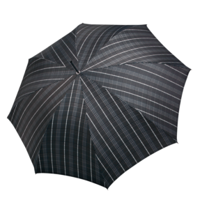 Vyriškas rankų darbo skėtis Doppler Manufaktur Carbon Orion 34535K51120 atidarytas