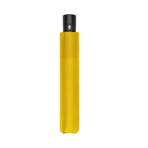 Unisex skėtis Doppler Zero Magic Shiny Yellow, satino geltona, uždarytas