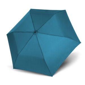 Unisex skėtis Doppler Zero Magic Ultra Blue, mėlyna, atidarytas