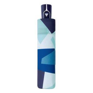 Moteriškas skėtis Doppler Automatic Crush mėlynas suskleistas lietsargis