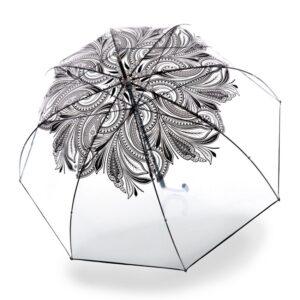 Moteriškas skaidrus skėtis Knirps Transparent View