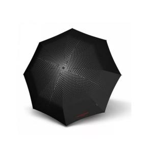 Moteriškas skėtis Knirps T200 Lola Paltinger Polka atidarytas