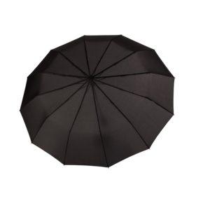 Universalus skėtis Doppler Fiber Major juodas skėtis su patogia rankena