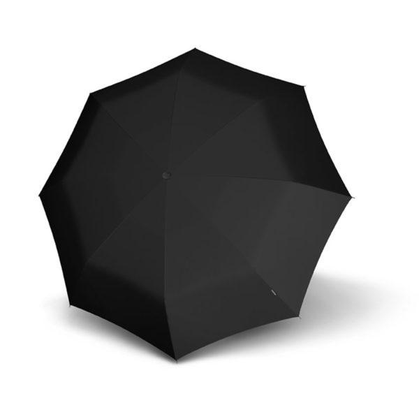 Moteriškas skėtis Knirps T010 Black, tik 18 centimetrų ilgio