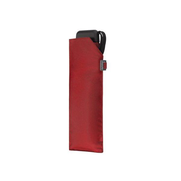 Unisex skėtis Doppler Carbonsteel Mini Slim raudonas