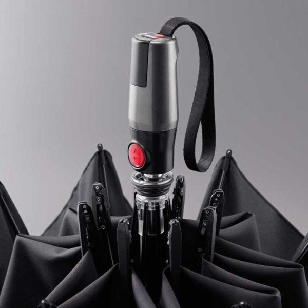 Unisex skėtis, Knirps T400 X-Large, dviems žmonėms, juodas