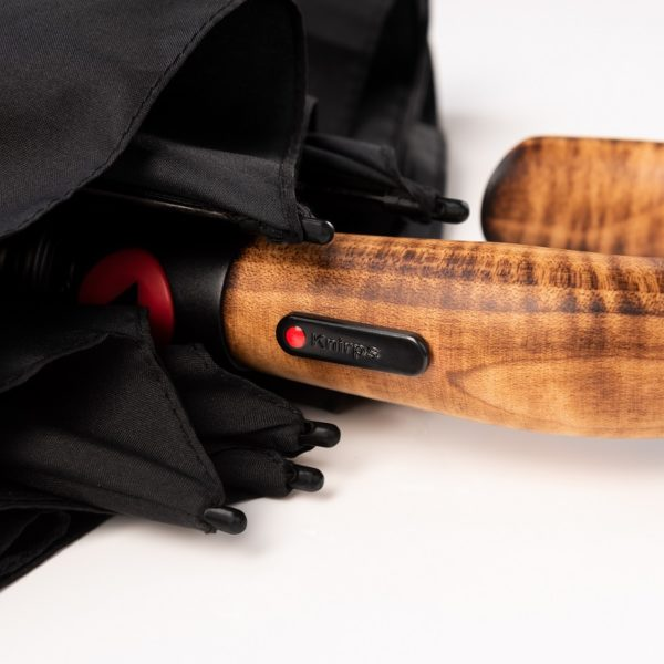 Unisex skėtis, Knirps S570 Folding Automatic, juodas