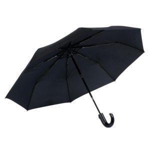 Vyriškas skėtis Knirps T260, U formos rankena, testuotas vėjo tunelyje