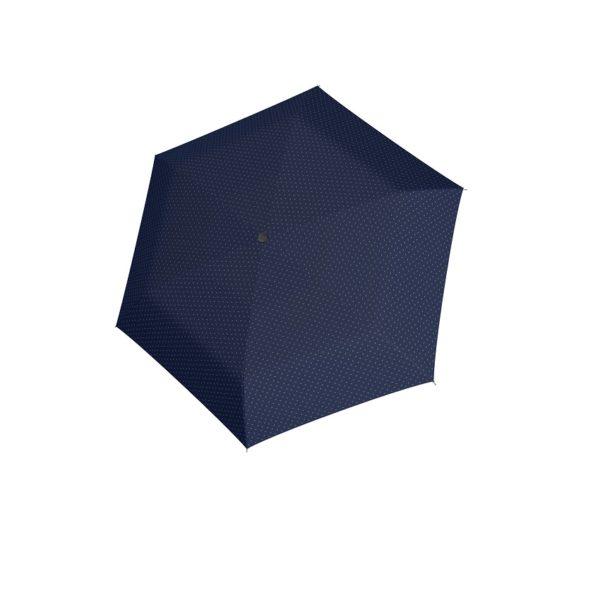 Moteriškas skėtis Doppler Carbonsteel Mini Slim Royal Blue