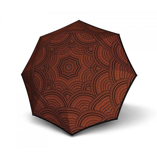 Moteriškas skėtis Knirps T200 Duomatic Marrakesh Fire