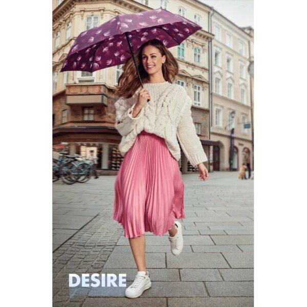 Moteriškas skėtis Doppler Fiber Magic Desire bordo