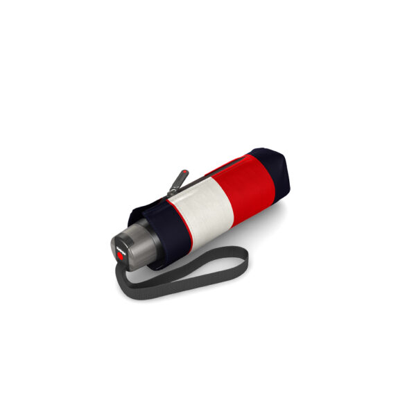 Moteriškas skėtis Knirps T010 Stripe Red