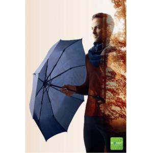 Vyriškas skėtis Knirps T260 Challenge Blue