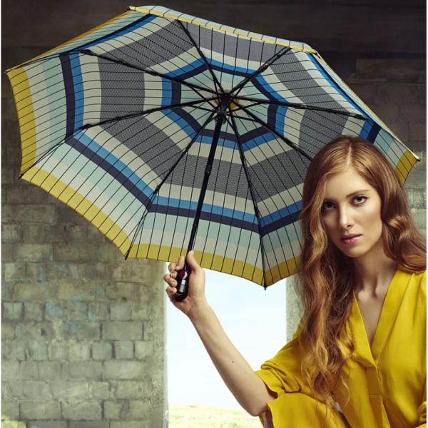 Moteriškas skėtis Knirps T200 Recovery Sky