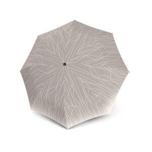 Moteriškas skėtis Knirps T200 River Stone, UV apsauga